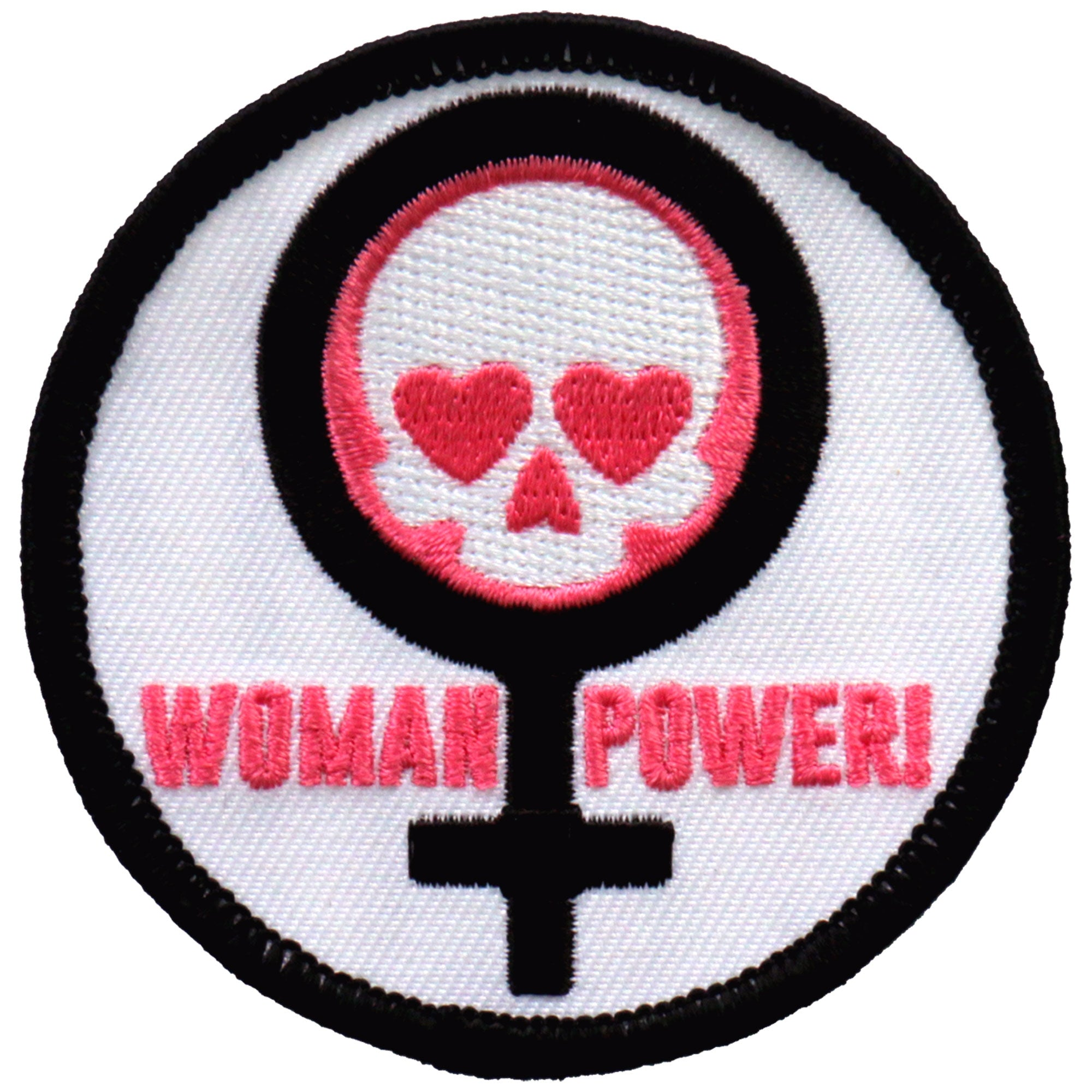 "Hot Leathers Woman Power 3"" Patch"