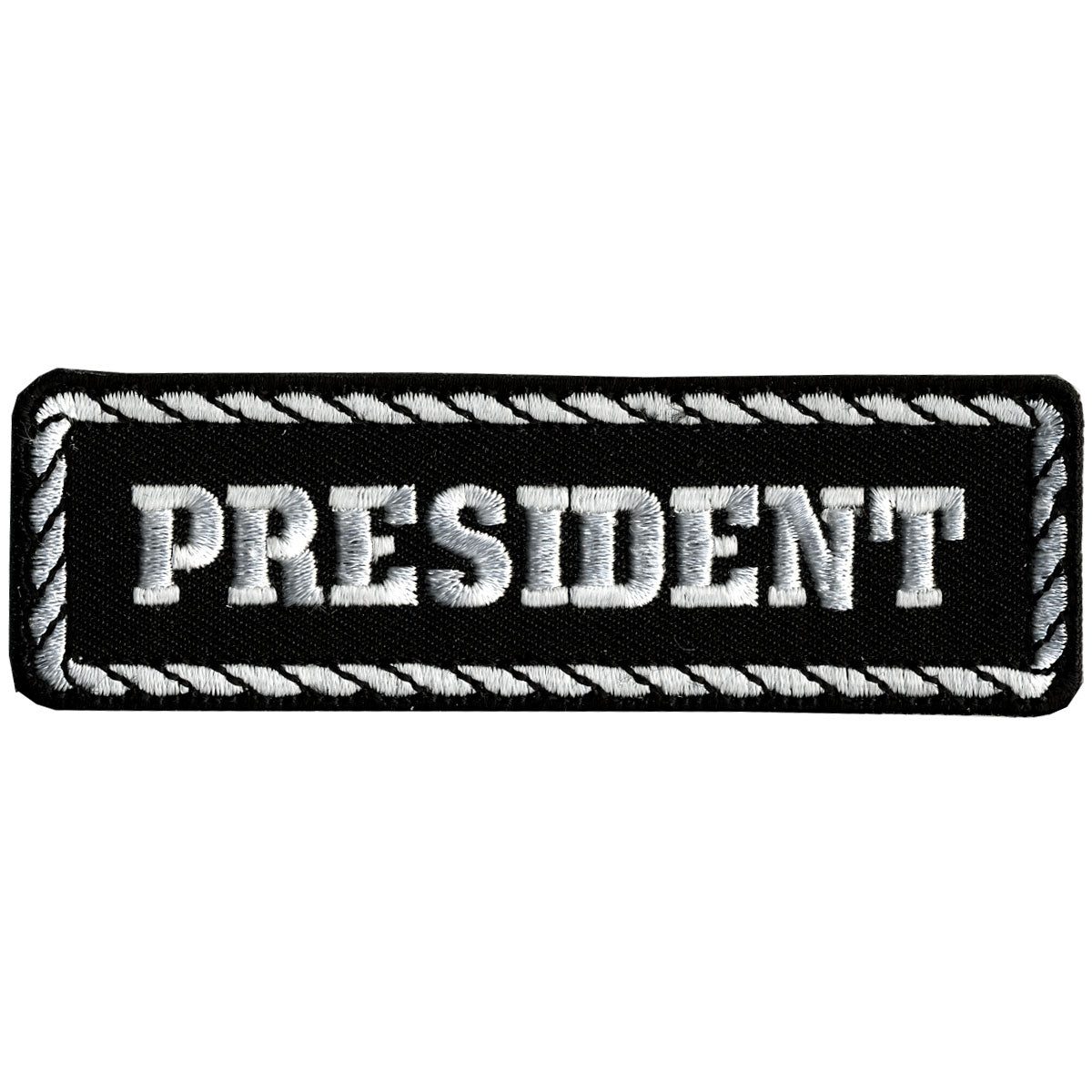 "Hot Leathers President 4"" x 1"" Patch"