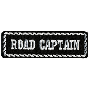 "Hot Leathers Road Captain 4"" x 1"" Patch"