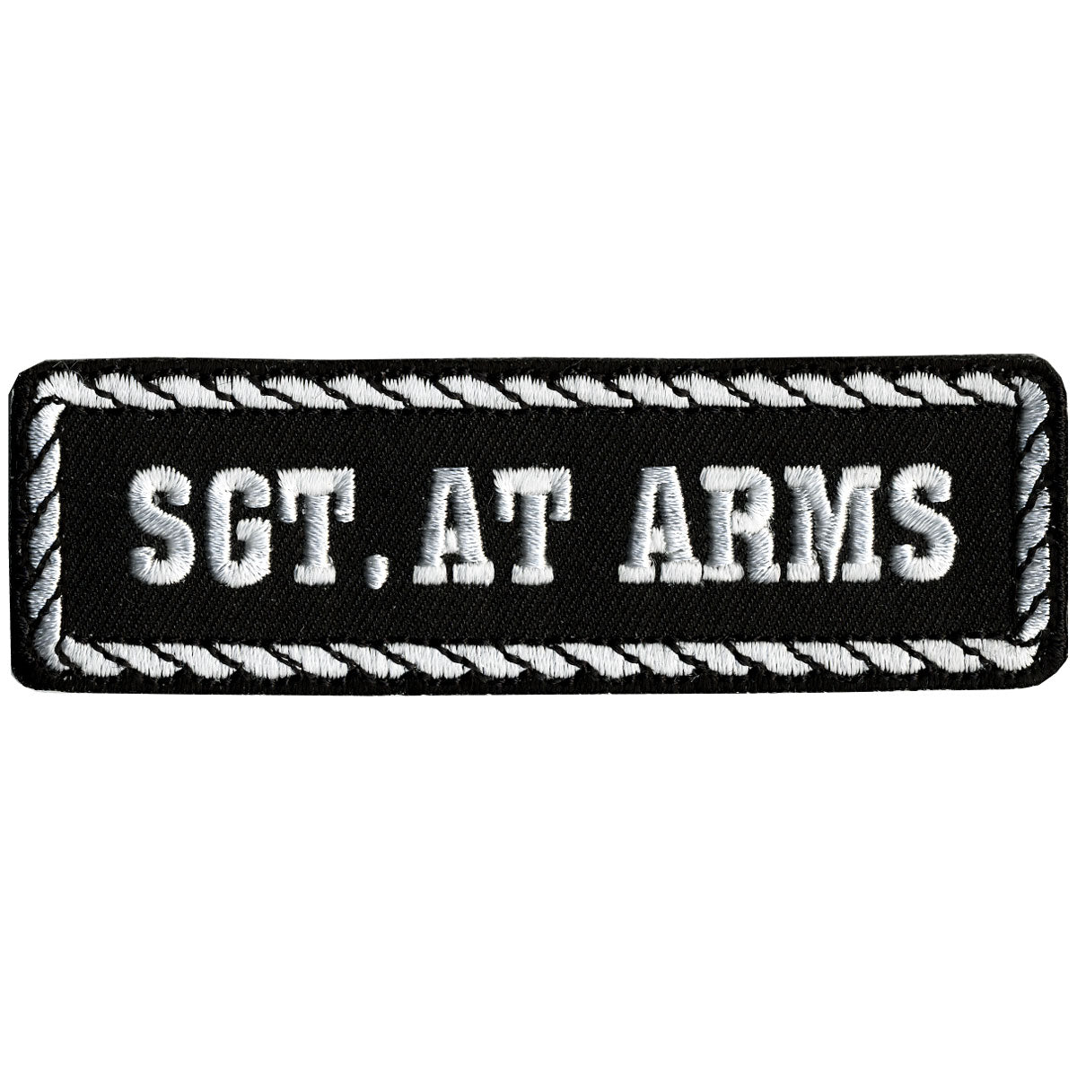 "Hot Leathers Sgt. At Arms 4"" x 1"" Patch"