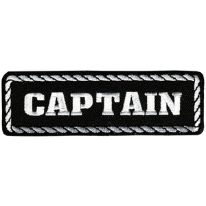 "Hot Leathers Captain 4"" x 1"" Patch"