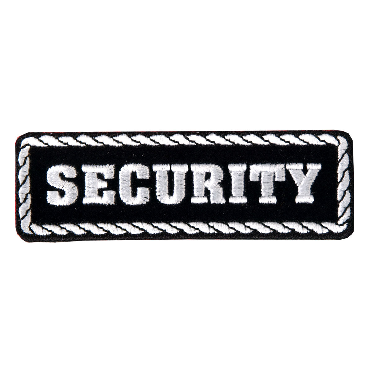 "Hot Leathers Security 4"" x 1"" Patch"