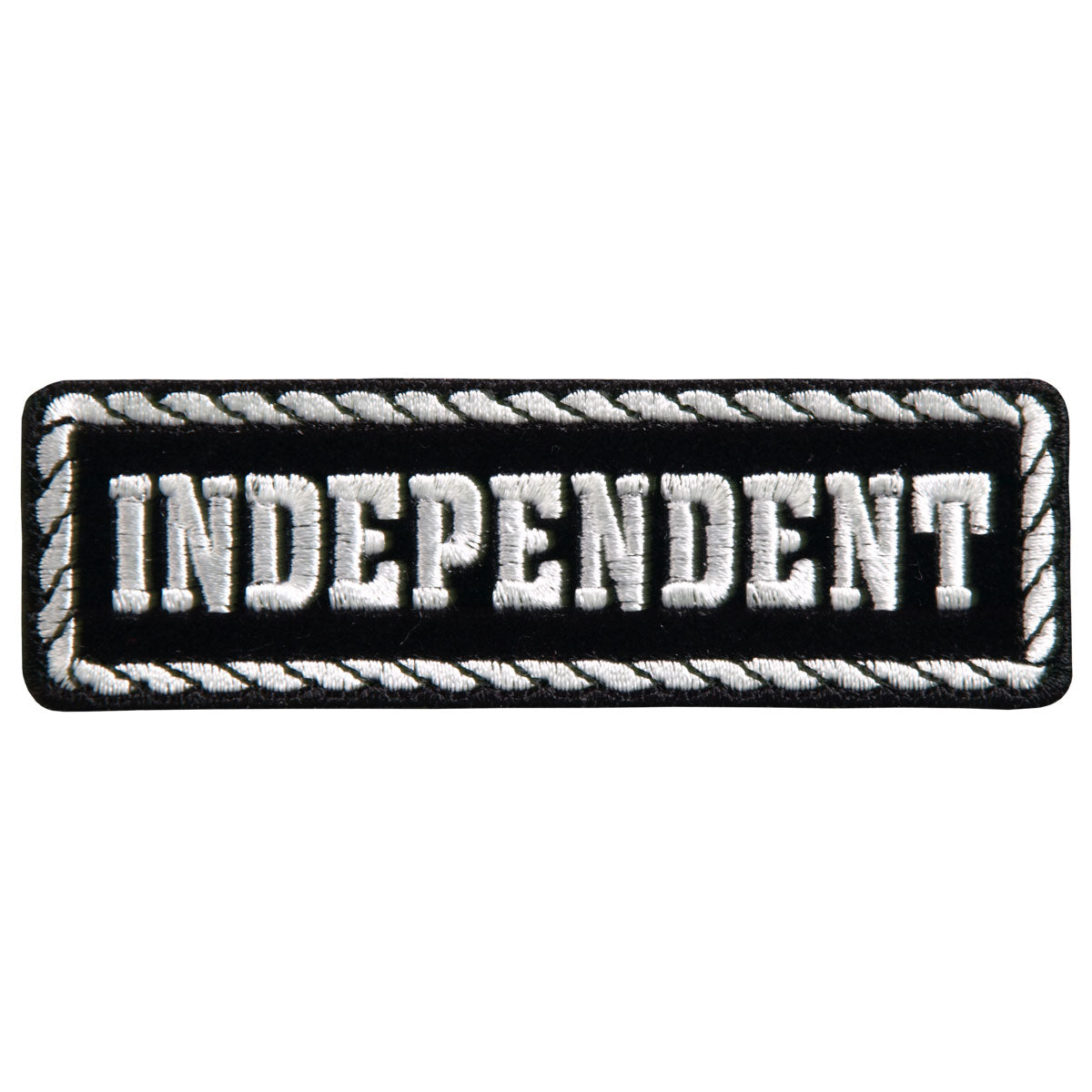 "Hot Leathers Officer Independent 4"" x 1"" Patch"