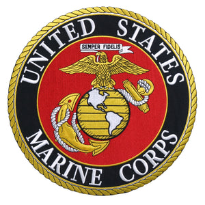 Hot Leathers USMC Marines Military Patches