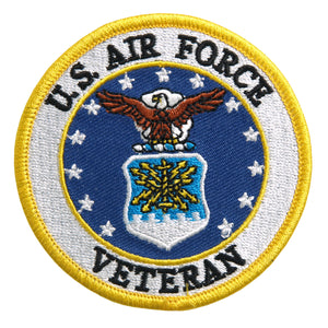 Hot Leathers US Air Force Veteran Military Patches