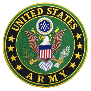 "Hot Leathers US Army Military es 10"" x 10"" Patch"