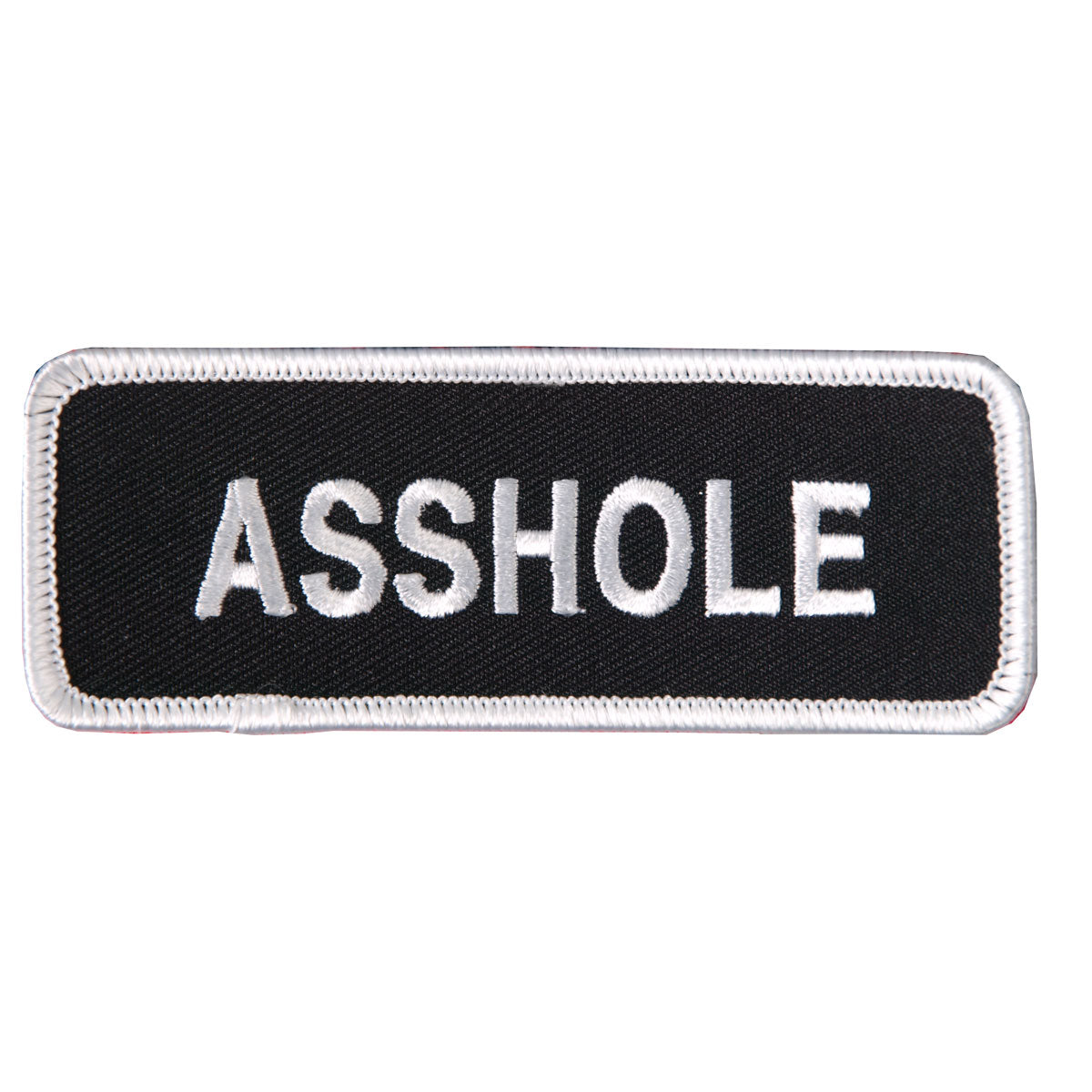 "Hot Leathers Asshole 4"" x 2"" Patch"