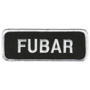 "Hot Leathers FUBAR 4"" x 2"" Patch"