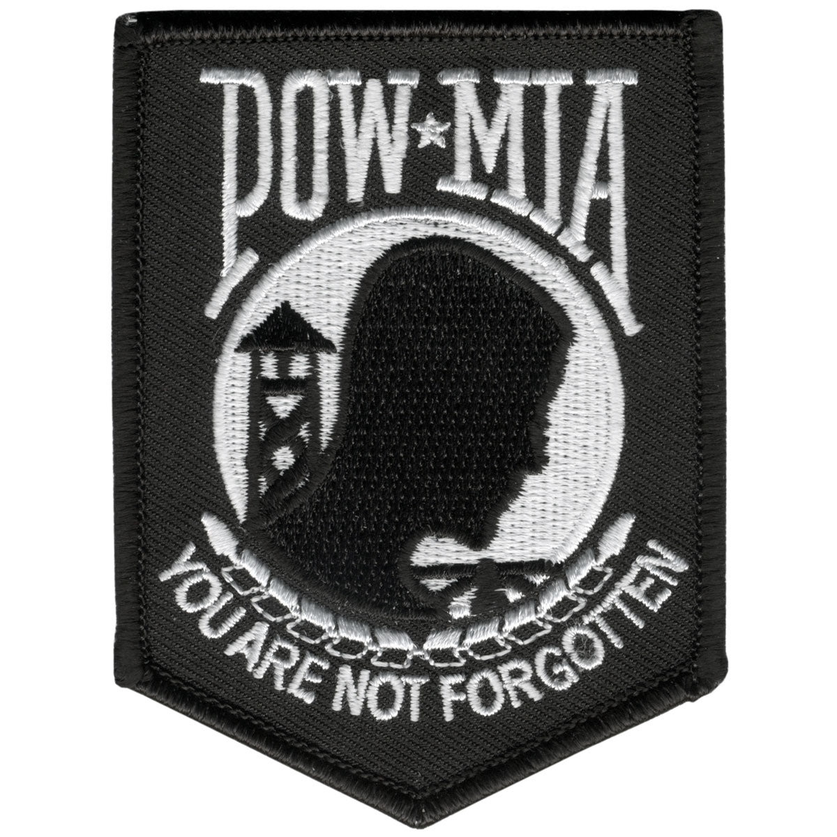 "Hot Leathers POW/MIA 3"" x 4"" Patch"