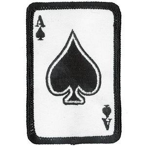 "Hot Leathers Ace of Spades 2"" x 3"" Patch"