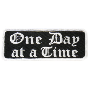 "Hot Leathers One Day At A Time 4"" x 2"" Patch"