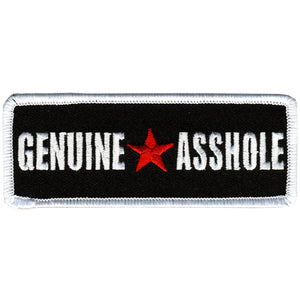 "Hot Leathers Genuine Asshole 4"" x 2"" Patch"