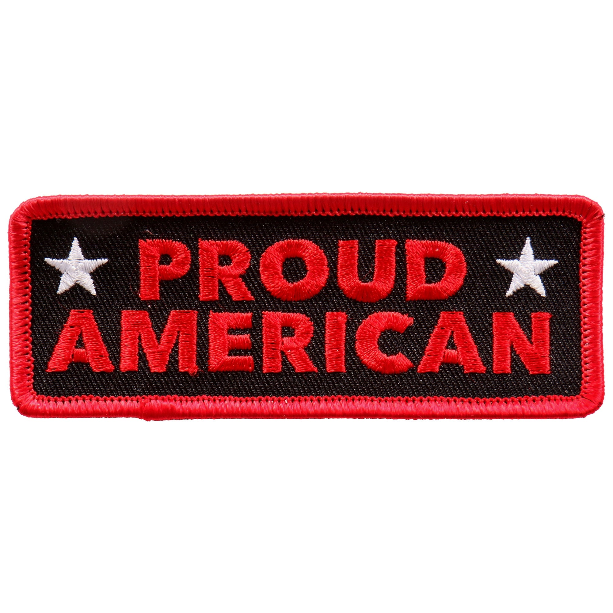 "Hot Leathers Proud American 4""x2"" Patch"