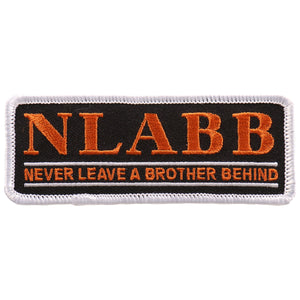 "Hot Leathers N.L.A.B.B. 4""x2"" Patch"