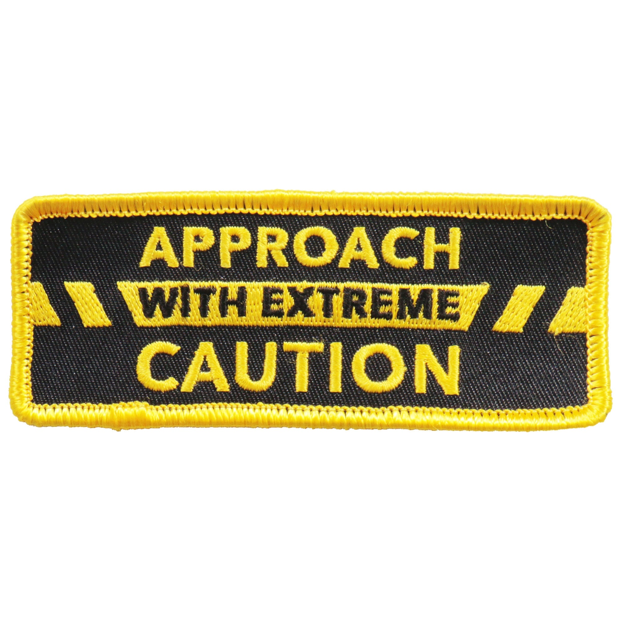 Hot Leathers Patch Approach W/ Extreme Caution