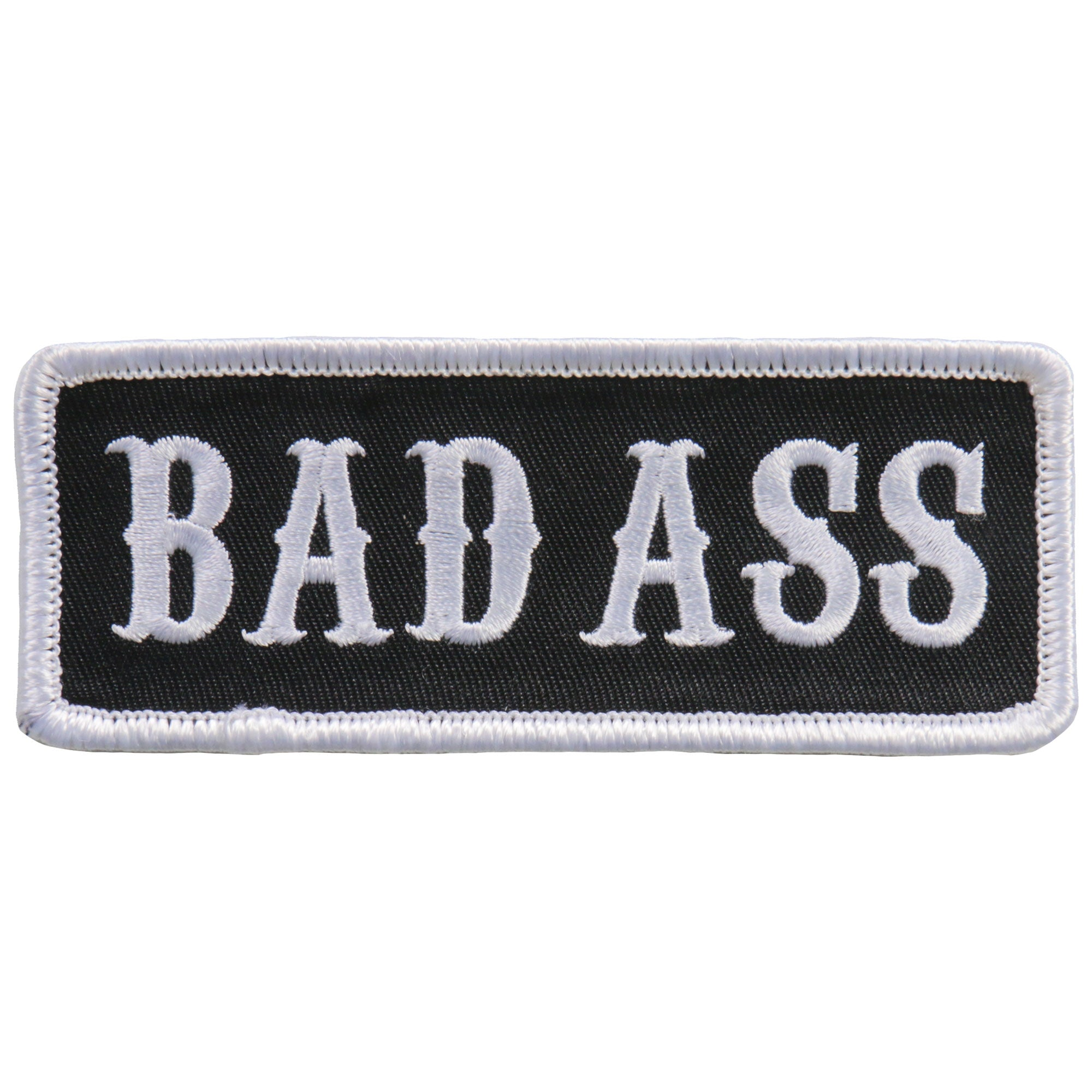 Hot Leathers Patch Bad Ass