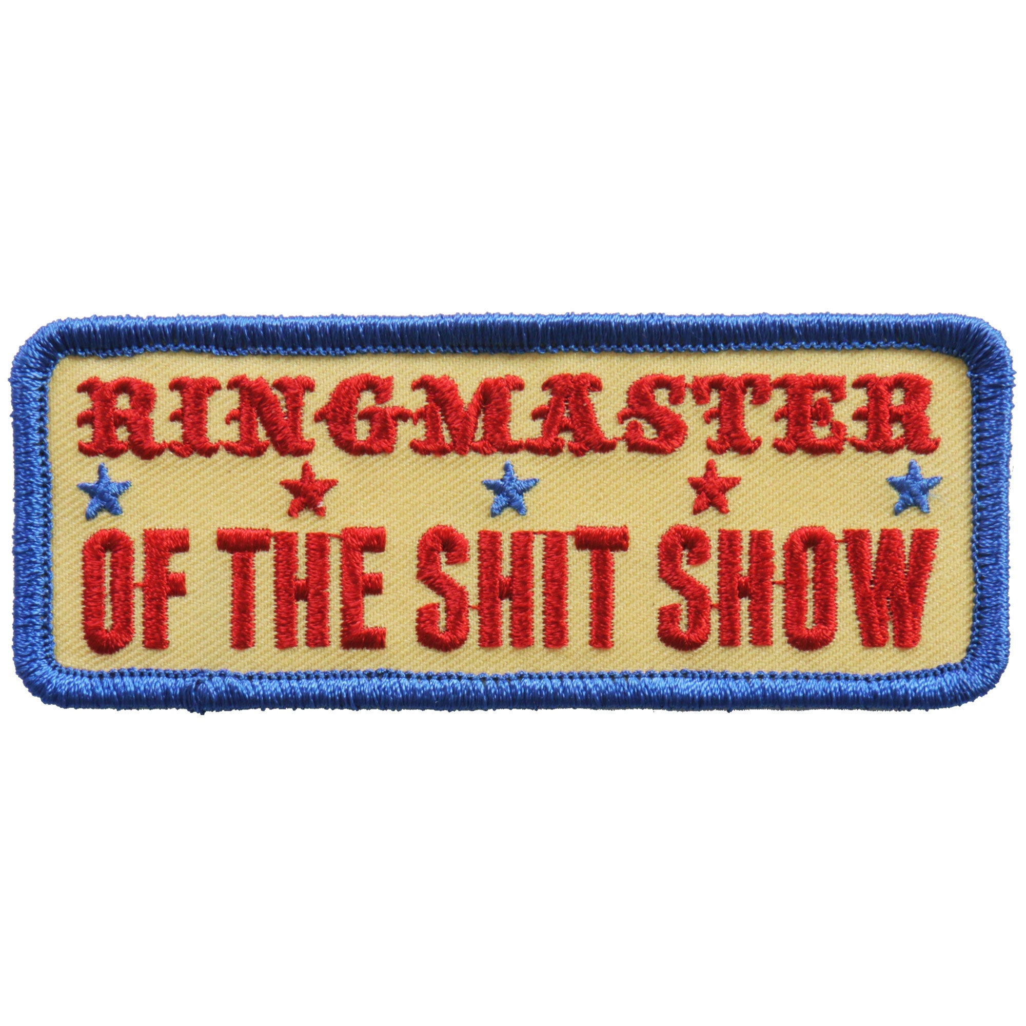 Hot Leathers Ringmaster Patch