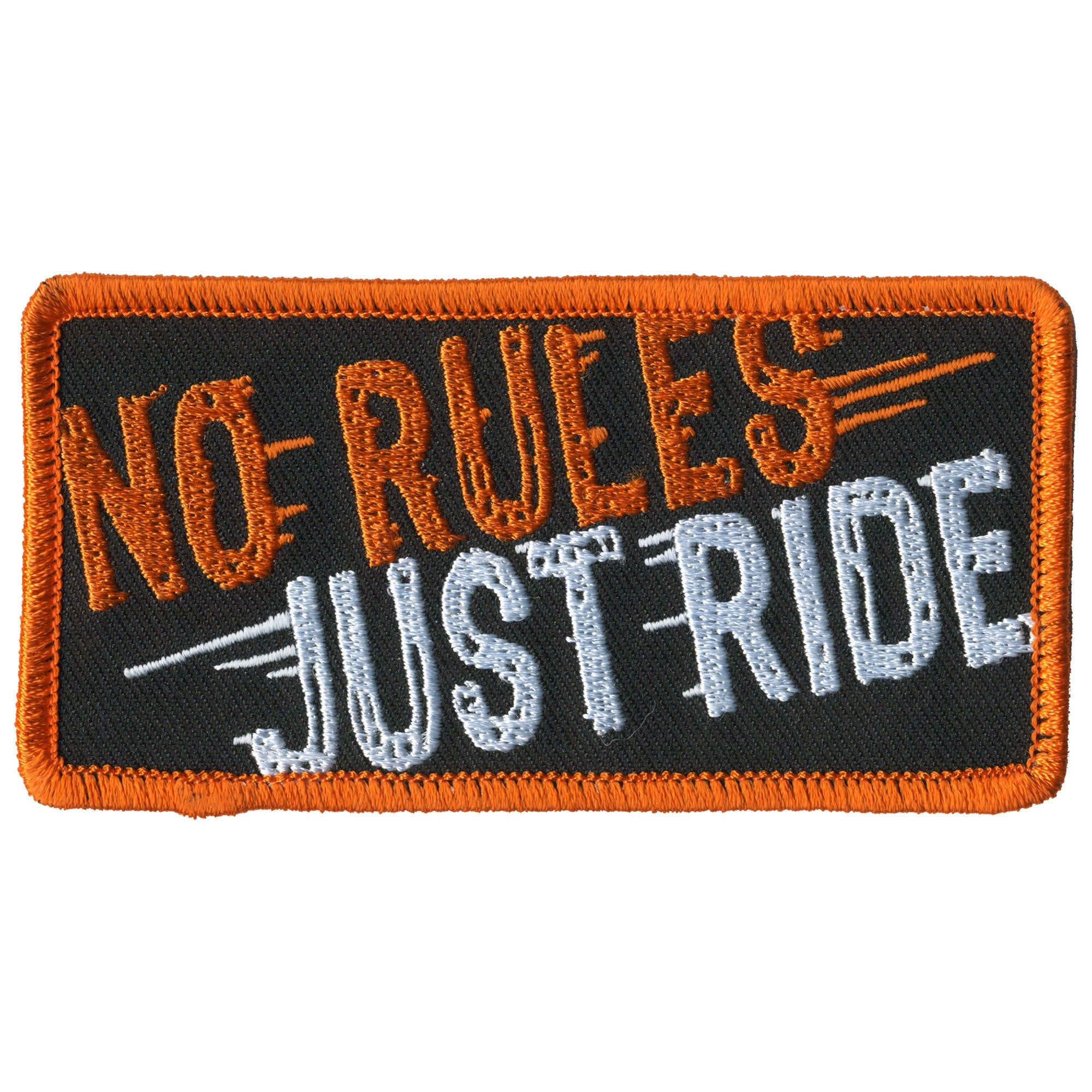Hot Leathers No Rules Just Ride Patch