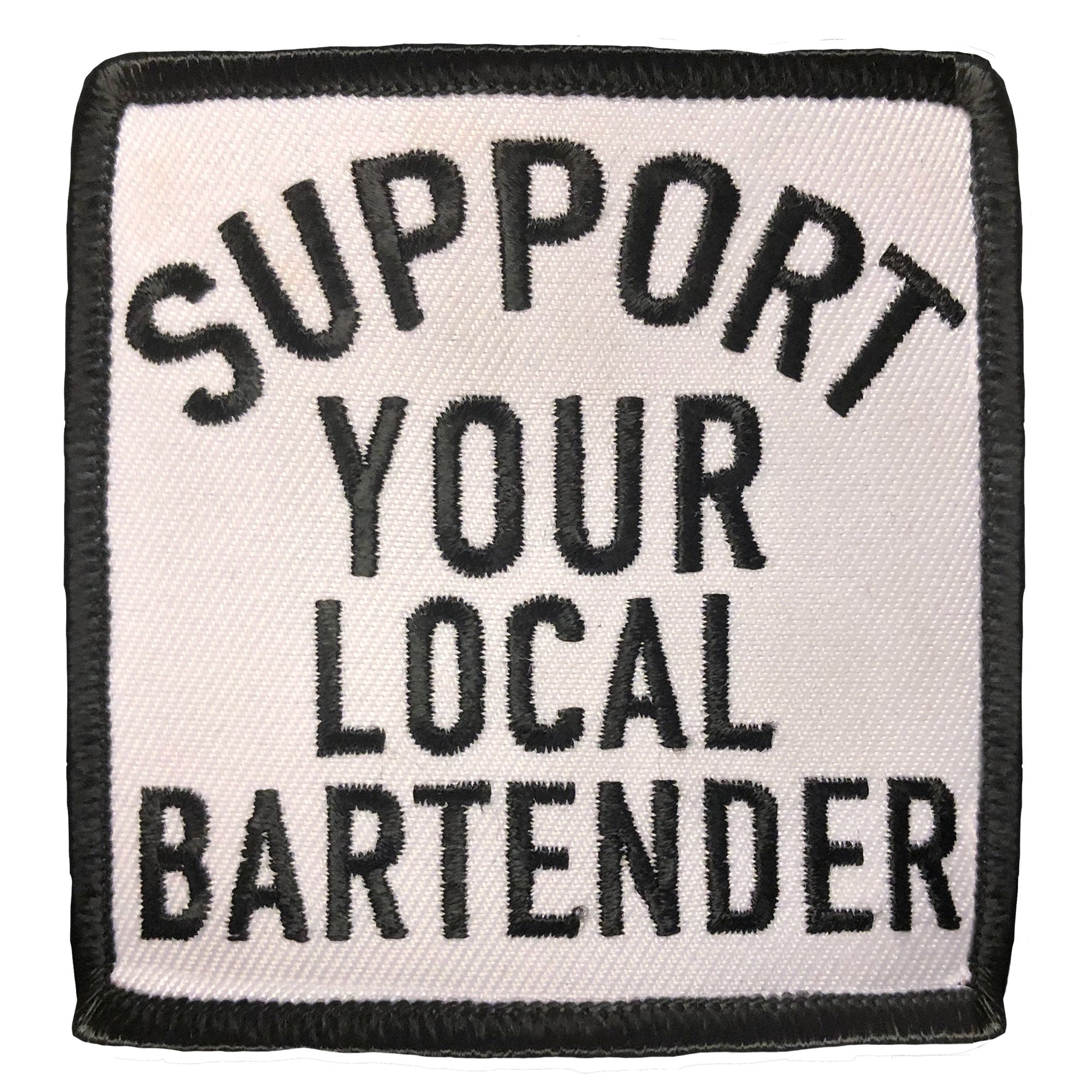Hot Leathers Support Your Local Bar Patch
