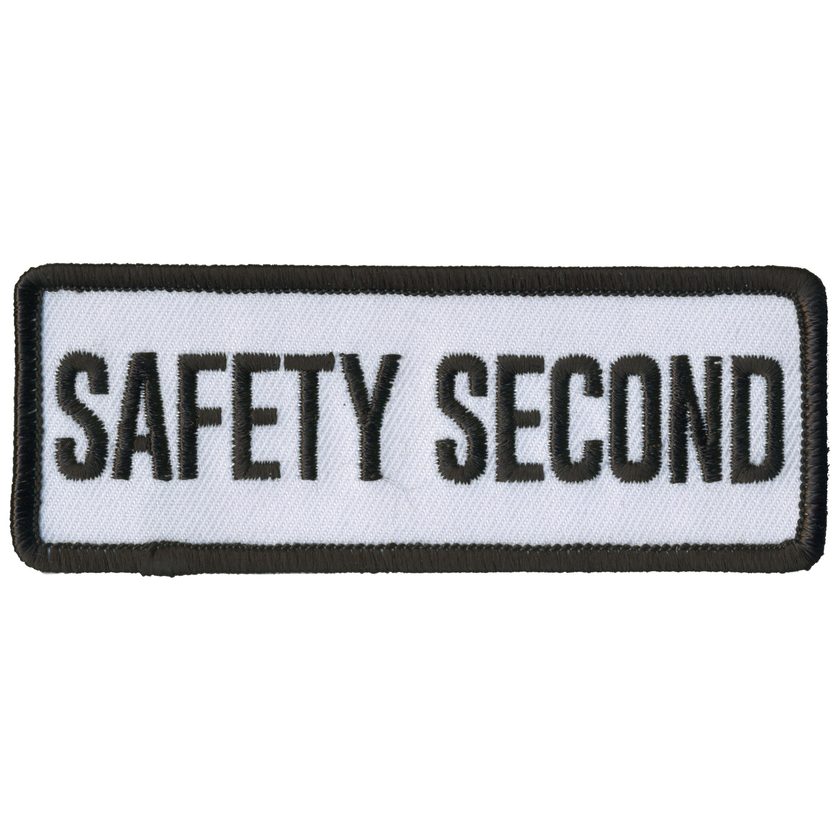 Hot Leathers Safety Second Patch