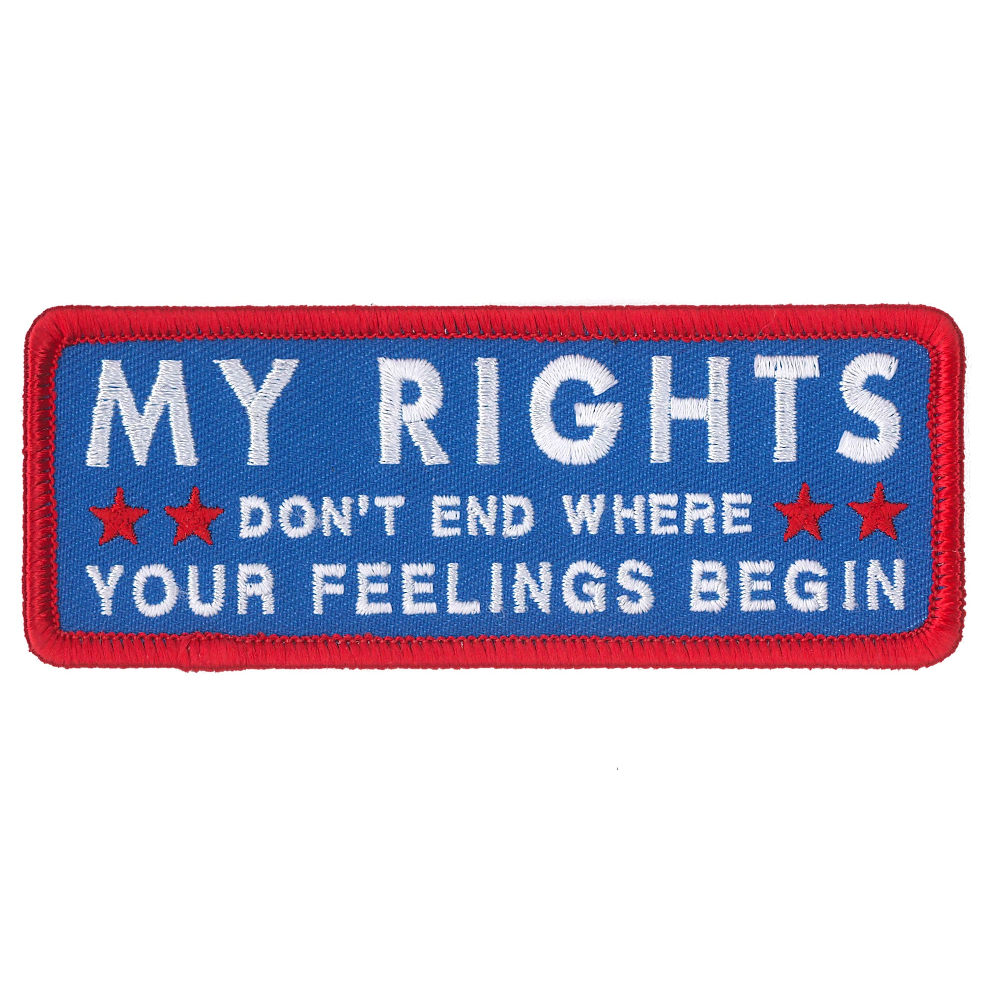 Hot Leathers My Rights Patch