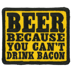 Hot Leathers Beer Bacon Patch