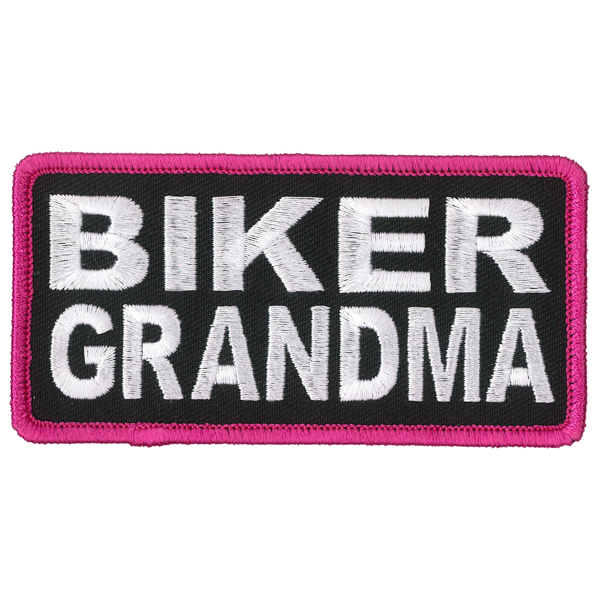 Hot Leathers Patch Biker Grandma