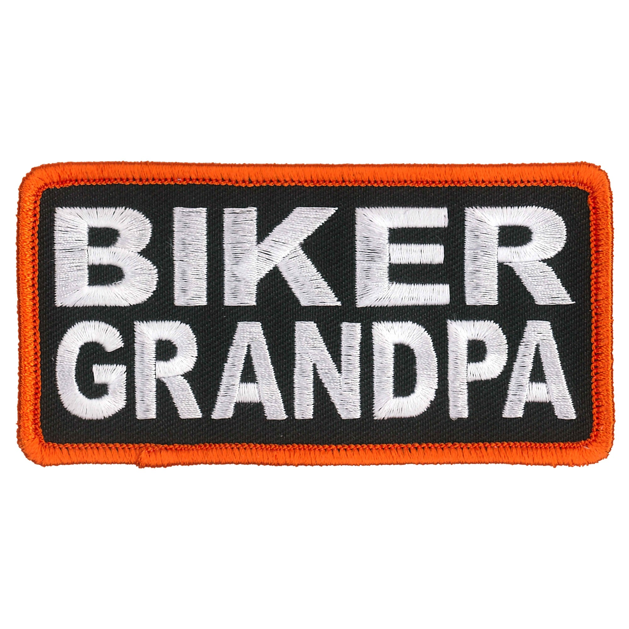 Hot Leathers Biker Grandpa Patch