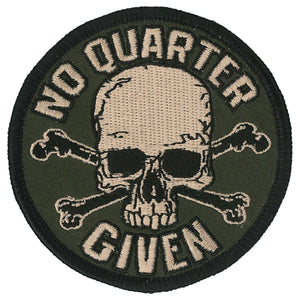 PATCH NO QUARTER GIVEN