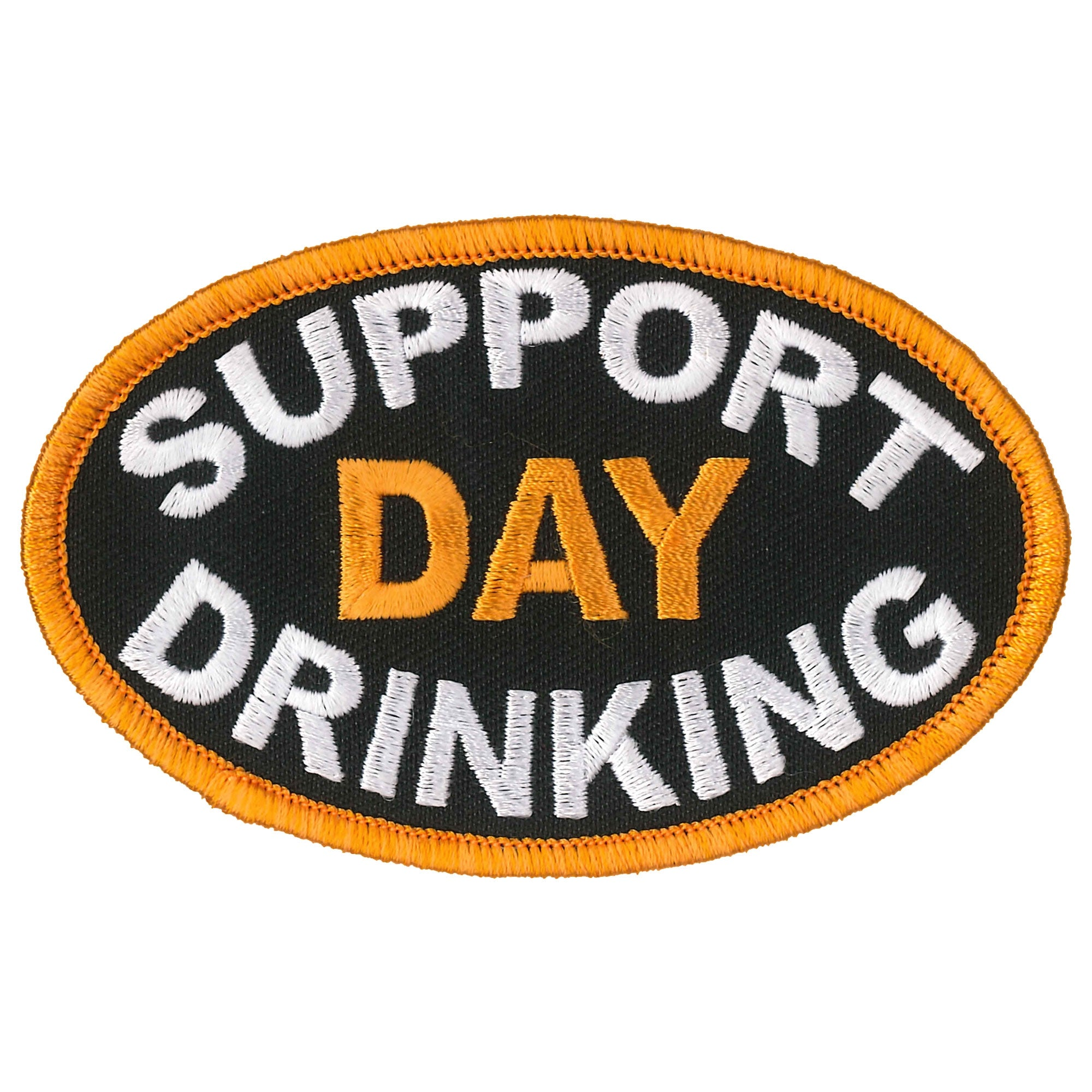 Hot Leathers Support Day Drinking Patch