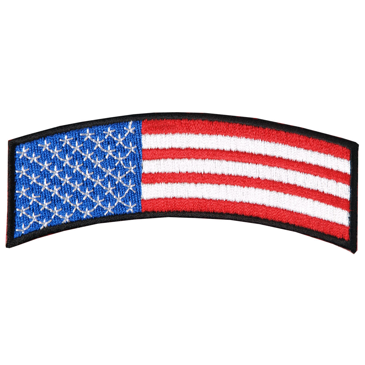 "Hot Leathers American Flag 4"" x 1"" Patch"