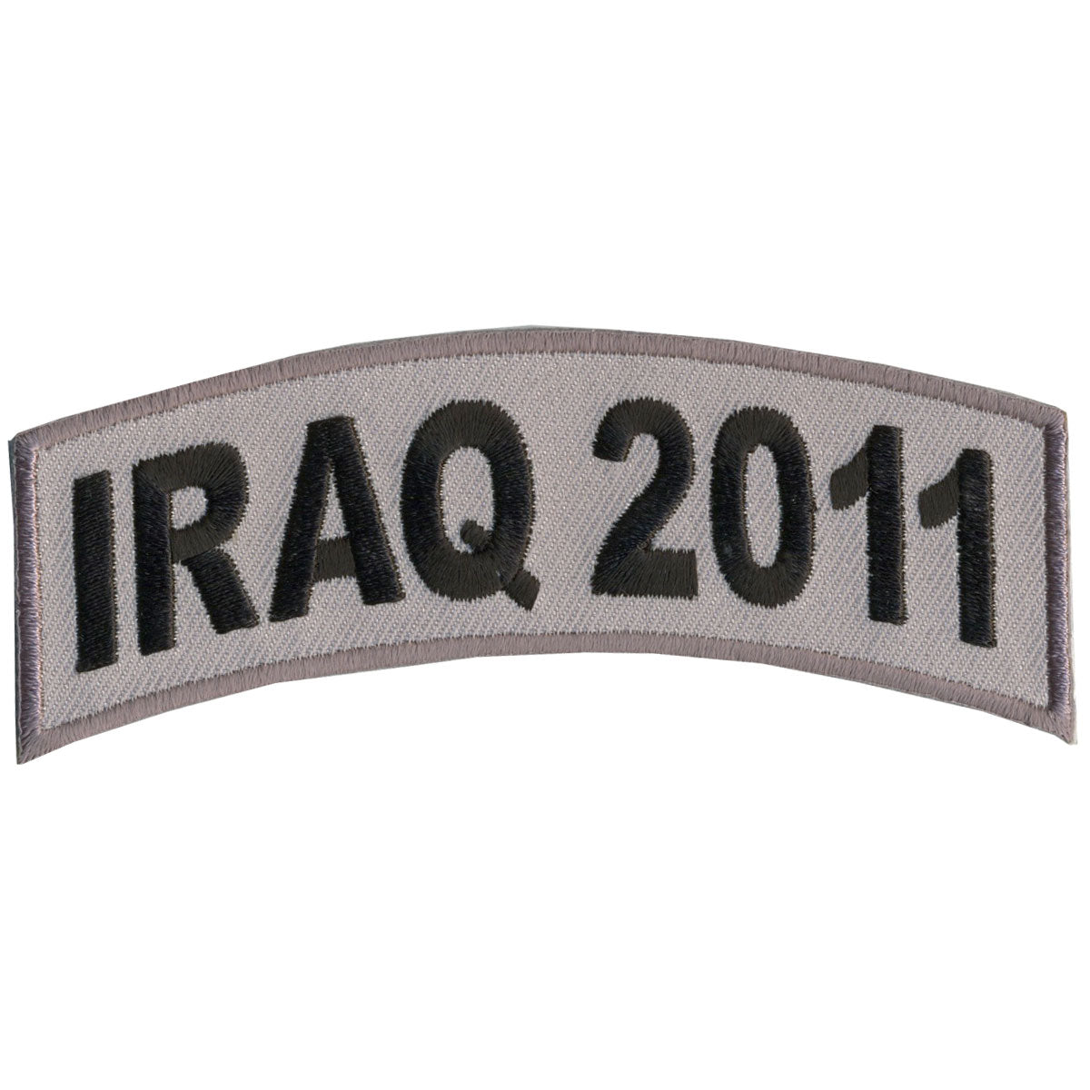 "Hot Leathers Iraq 2011 4"" x 1"" Patch"