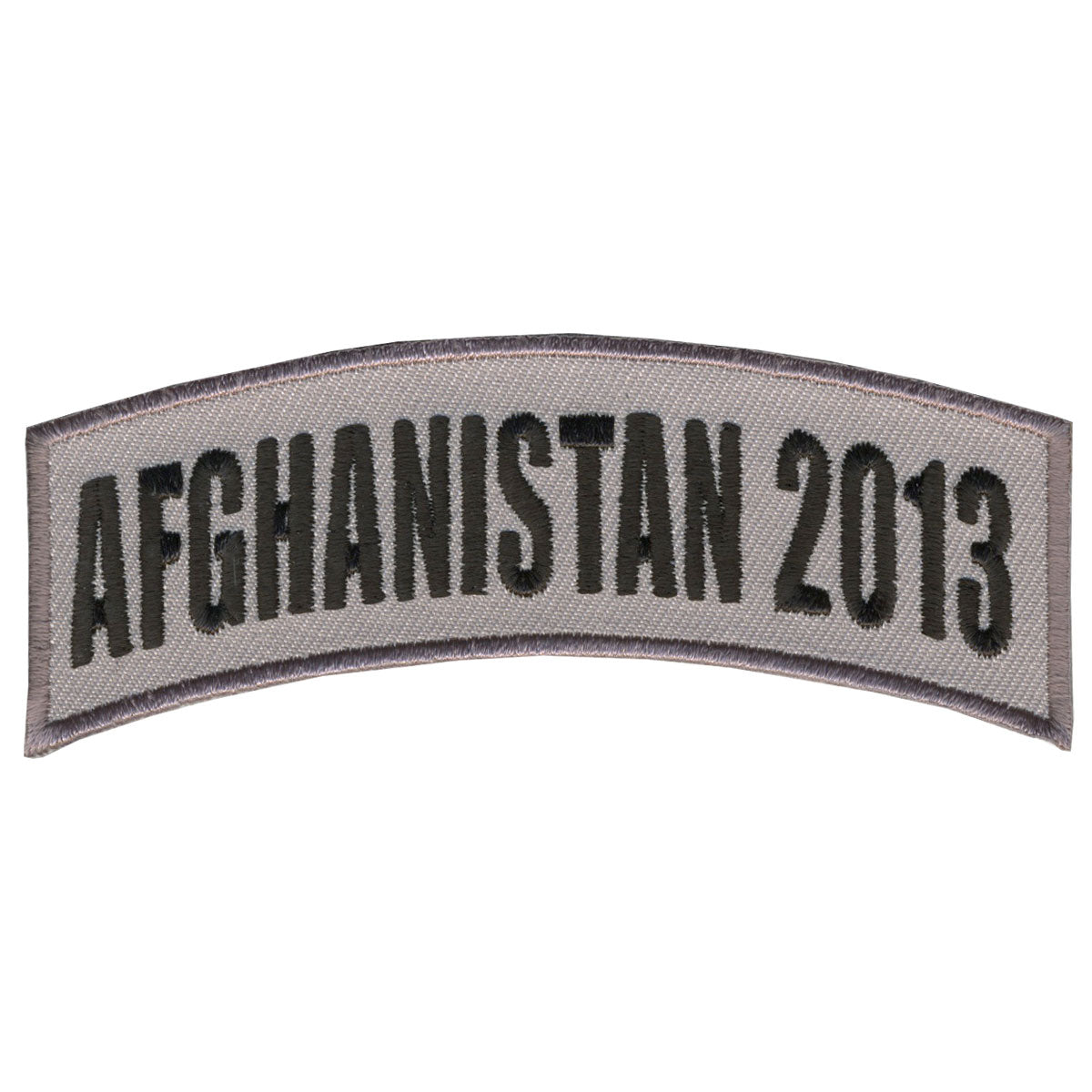 "Hot Leathers Afghanistan 2013 4"" x 1"" Patch"