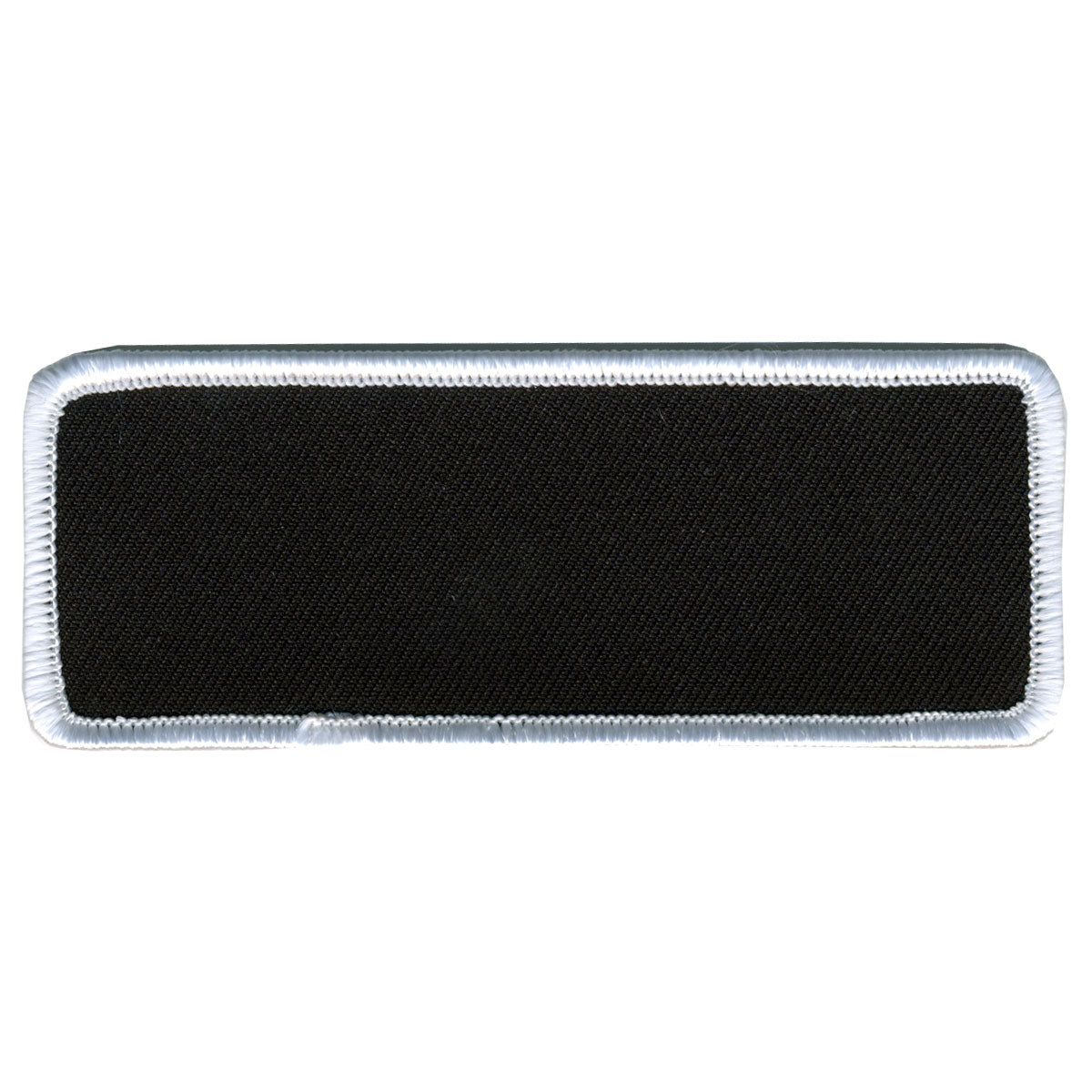 "Hot Leathers Blank w/ White Trim 4"" x 1.5"" Patch"
