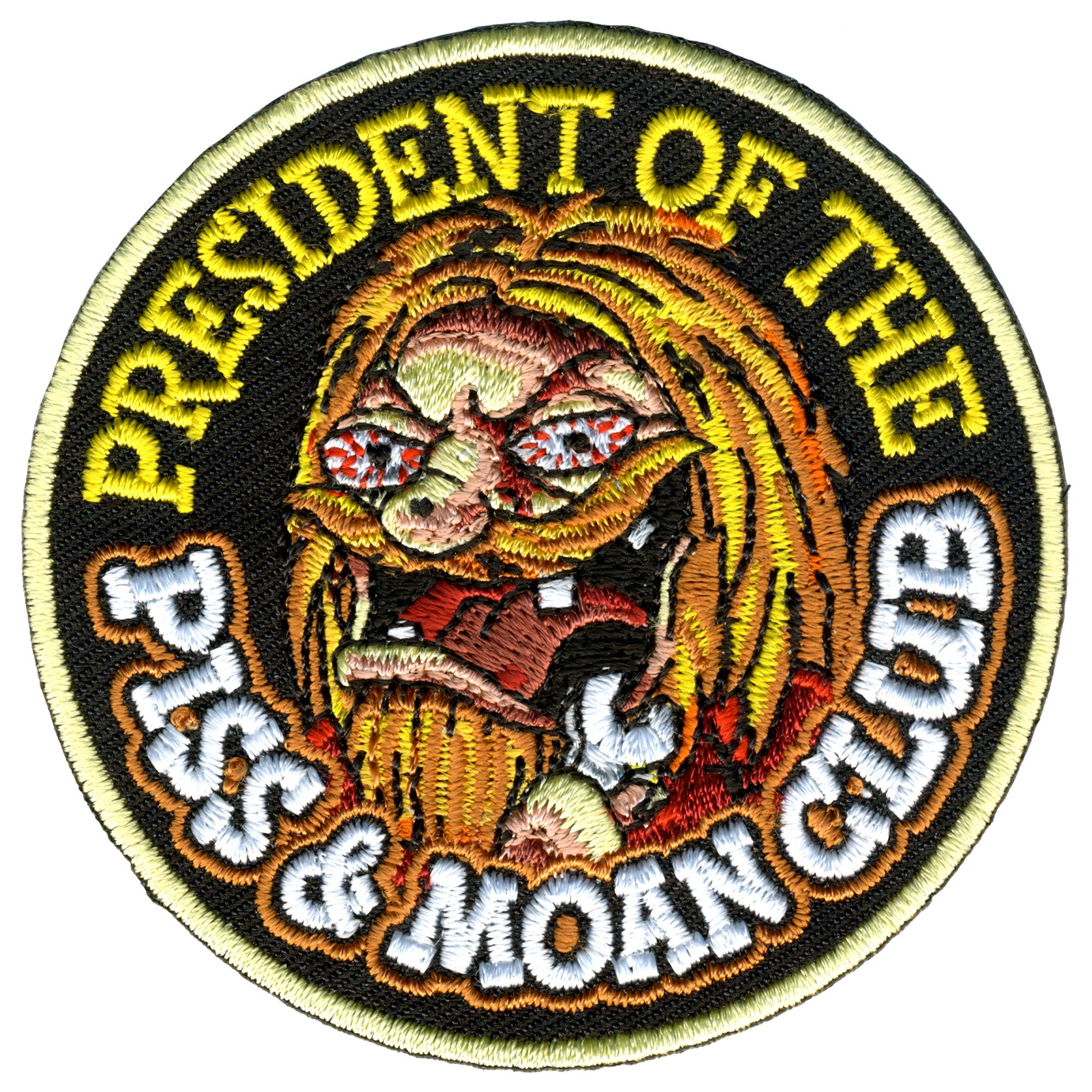 "Hot Leathers 3"" Piss & Moan Club Patch"