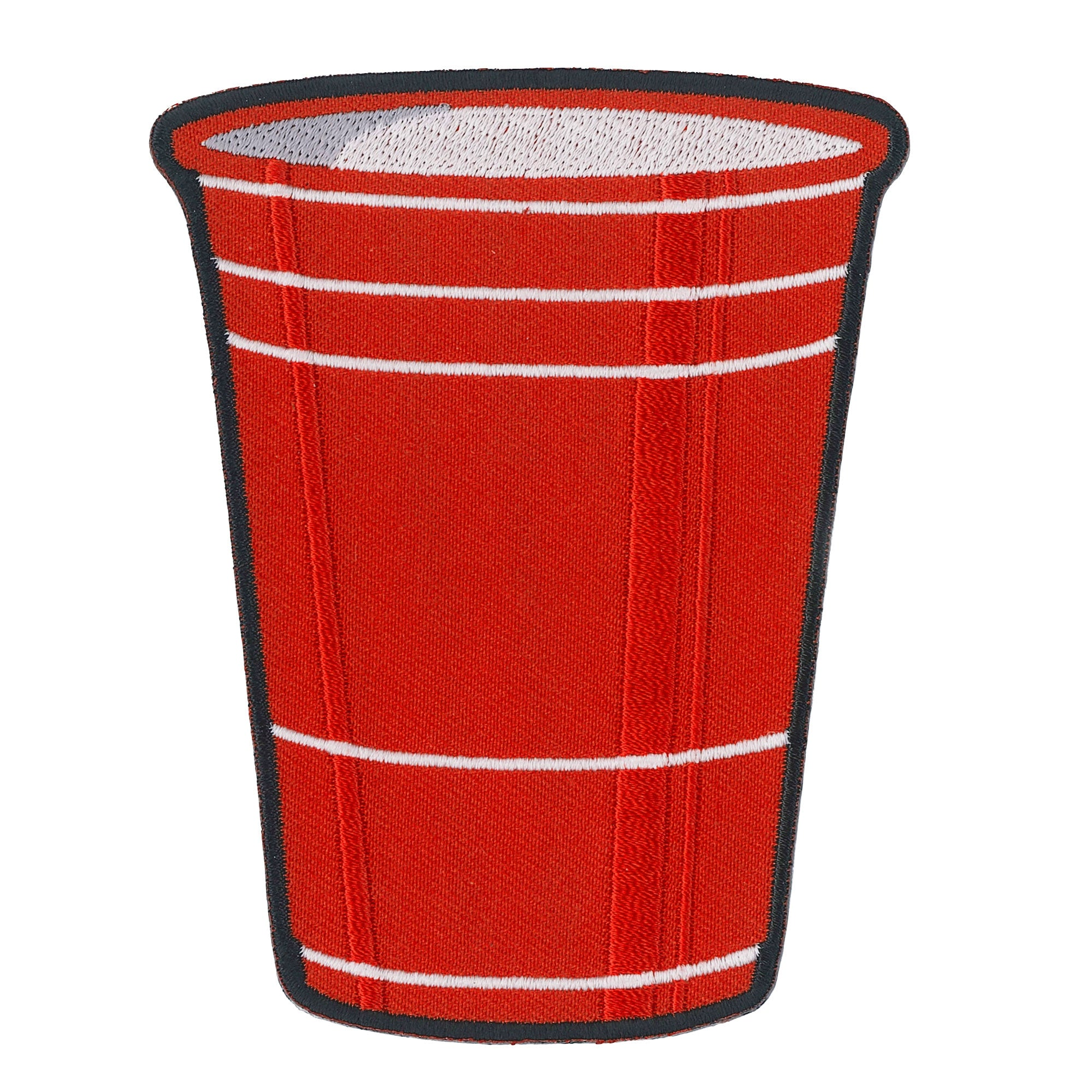 "Hot Leathers Red Cup 4"" Patch"