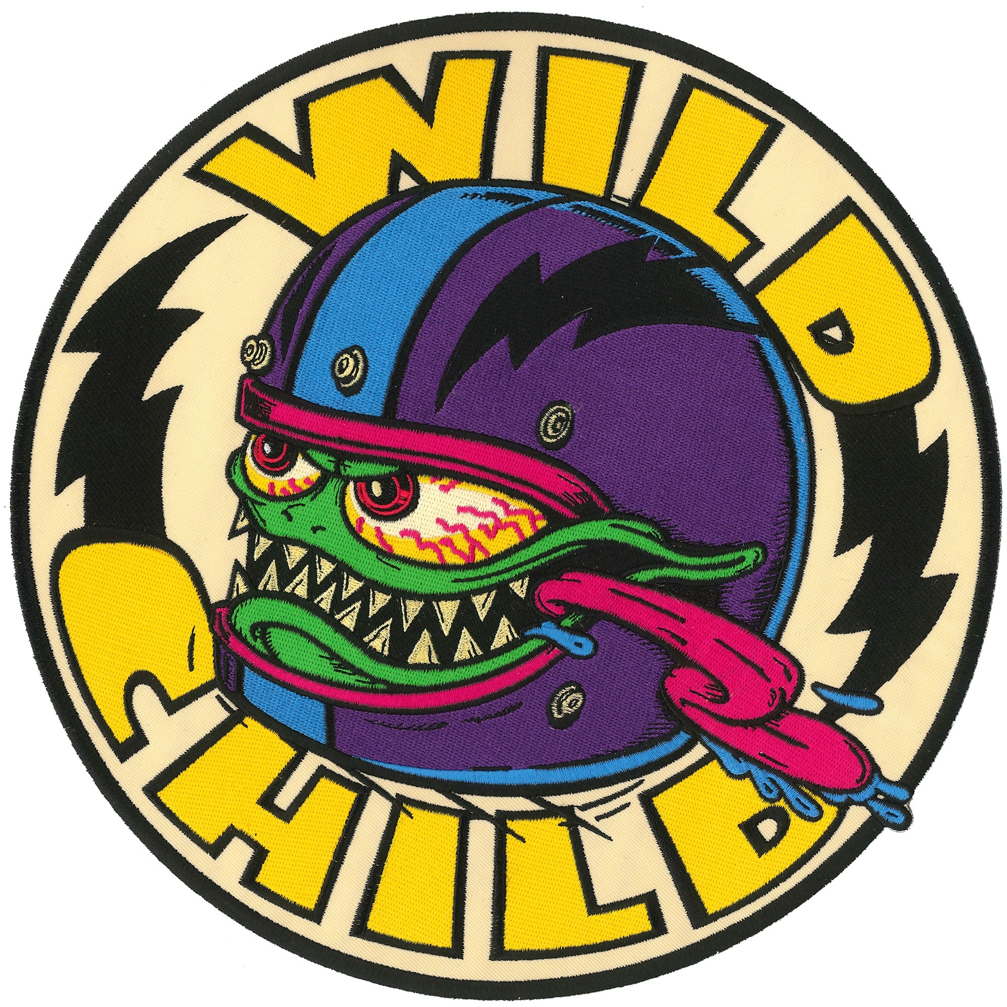 "Hot Leathers Monster Wild Child 10"" Patch"