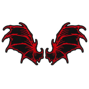 PATCH DRAGON WINGS 4""