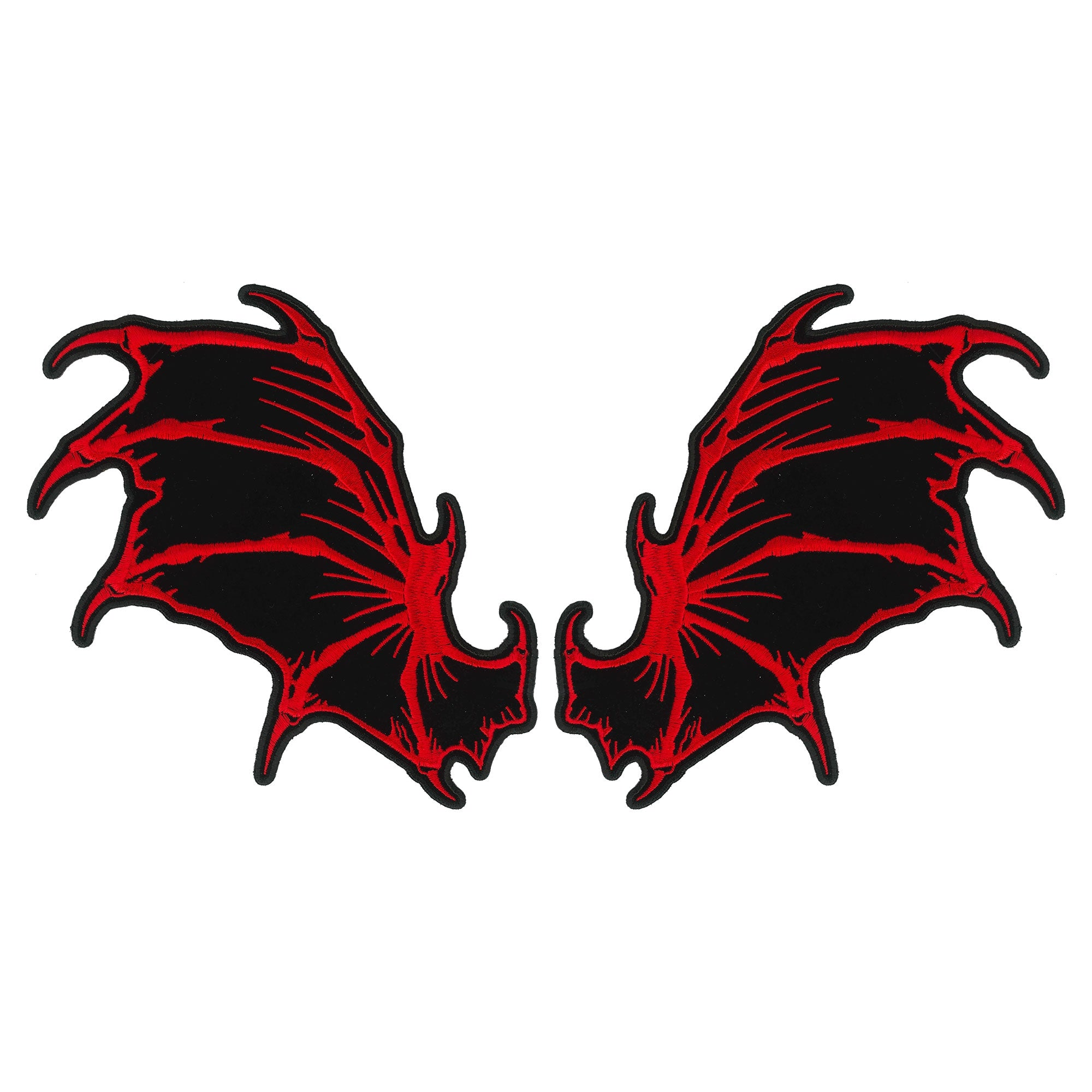 Hot Leathers Patch Dragon Wings 8""