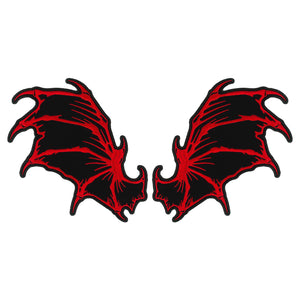 PATCH DRAGON WINGS 8""