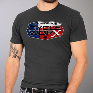 Official Providence Cycle Worx Texas Flag T-Shirt