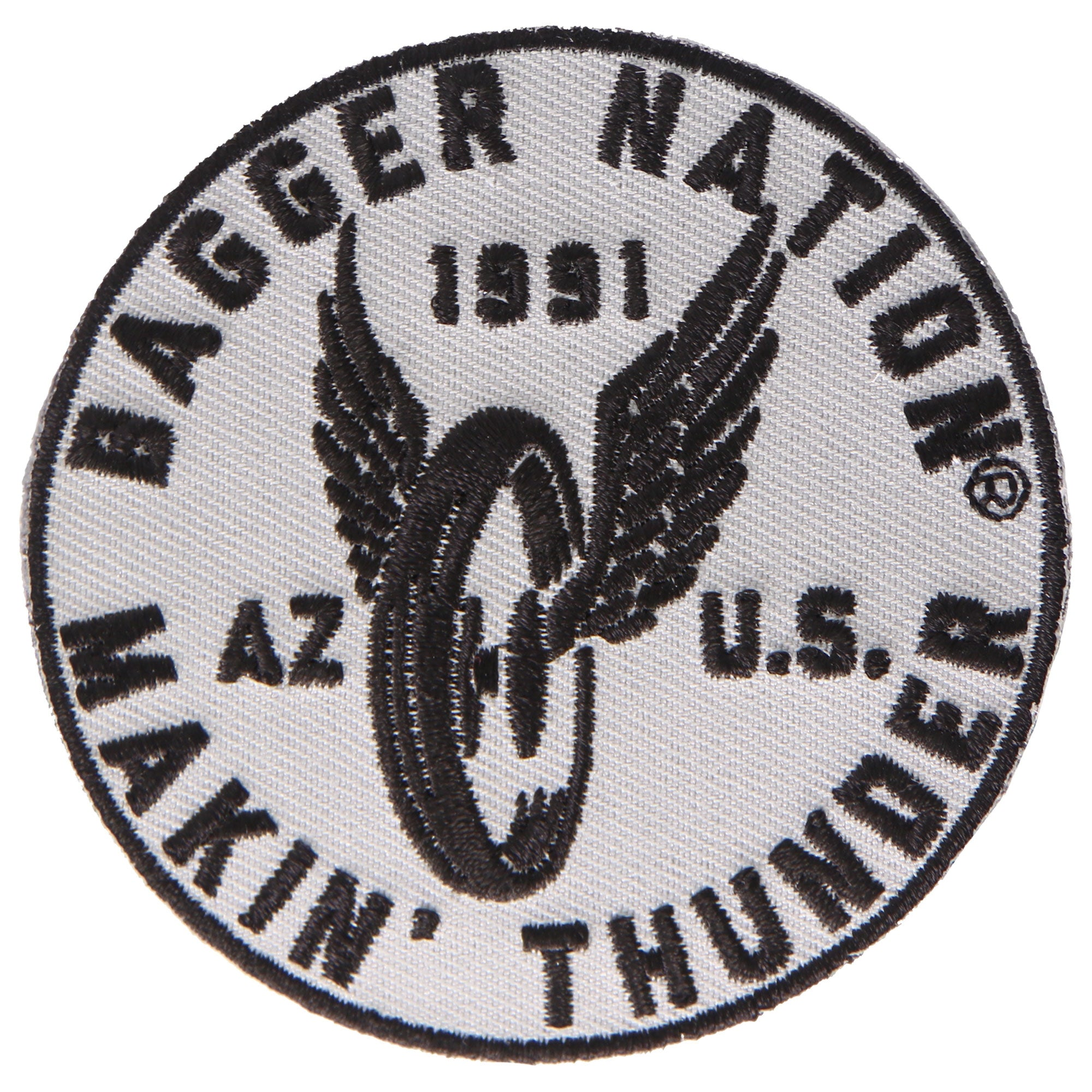 Official Paul Yaffe's Bagger Nation Flying Wheel Patch