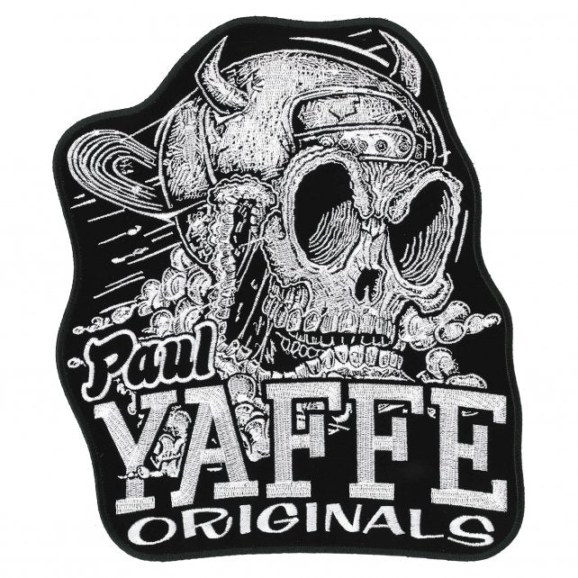 "Official Paul Yaffe's Bagger Nation Monster 9"" Patch"