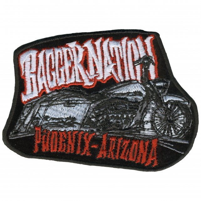 "Official Paul Yaffe's Bagger Nation Twin Bikes 4"" Patch"