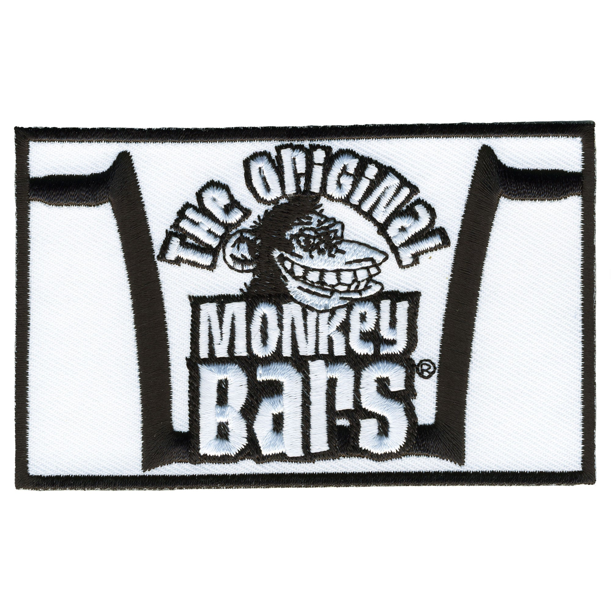 Official Paul Yaffe's Bagger Nation Monkey Bars Patch 4""