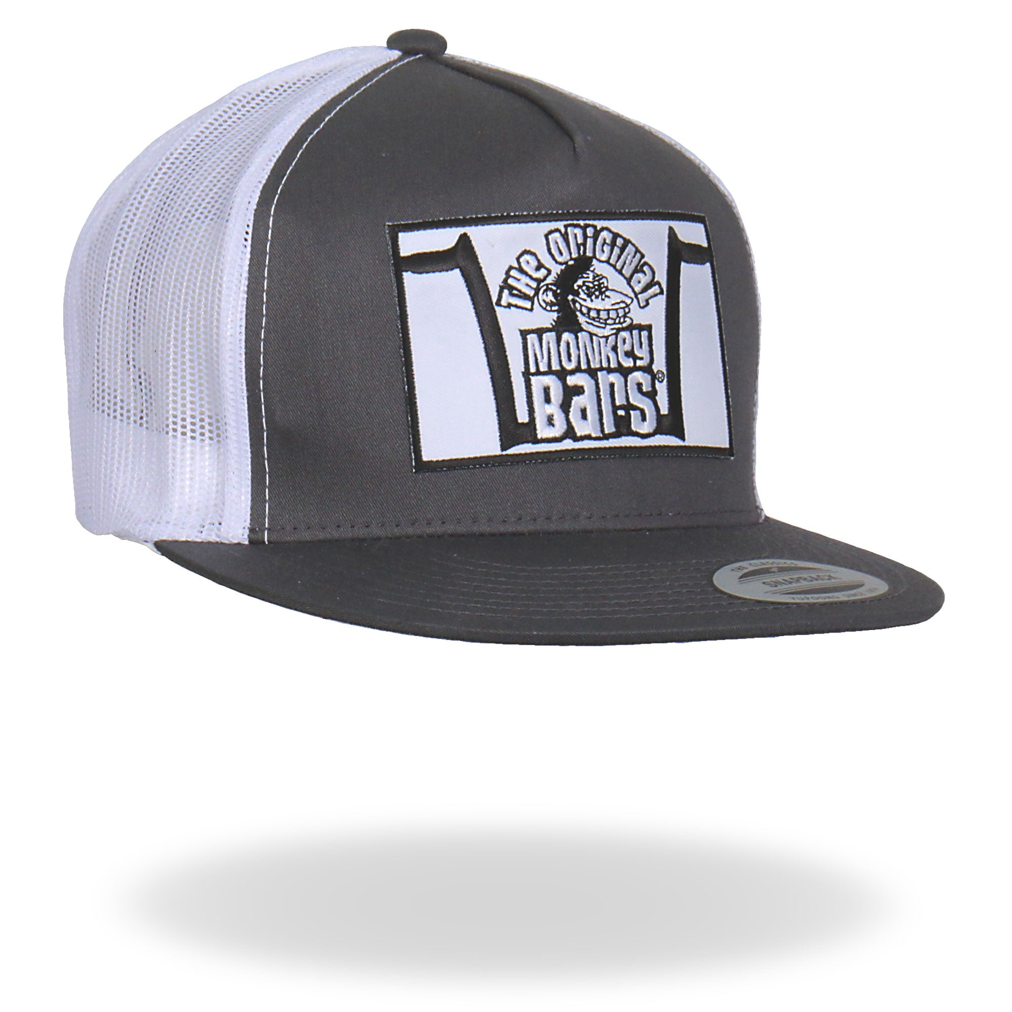 Official Paul Yaffes Monkey Bars Hat Gray Snapback