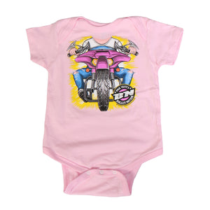 Official Paul Yaffe's Bagger Nation Headless Girl Bodysuit