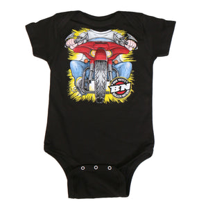 Official Paul Yaffe's Bagger Nation Headless Boy Bodysuit