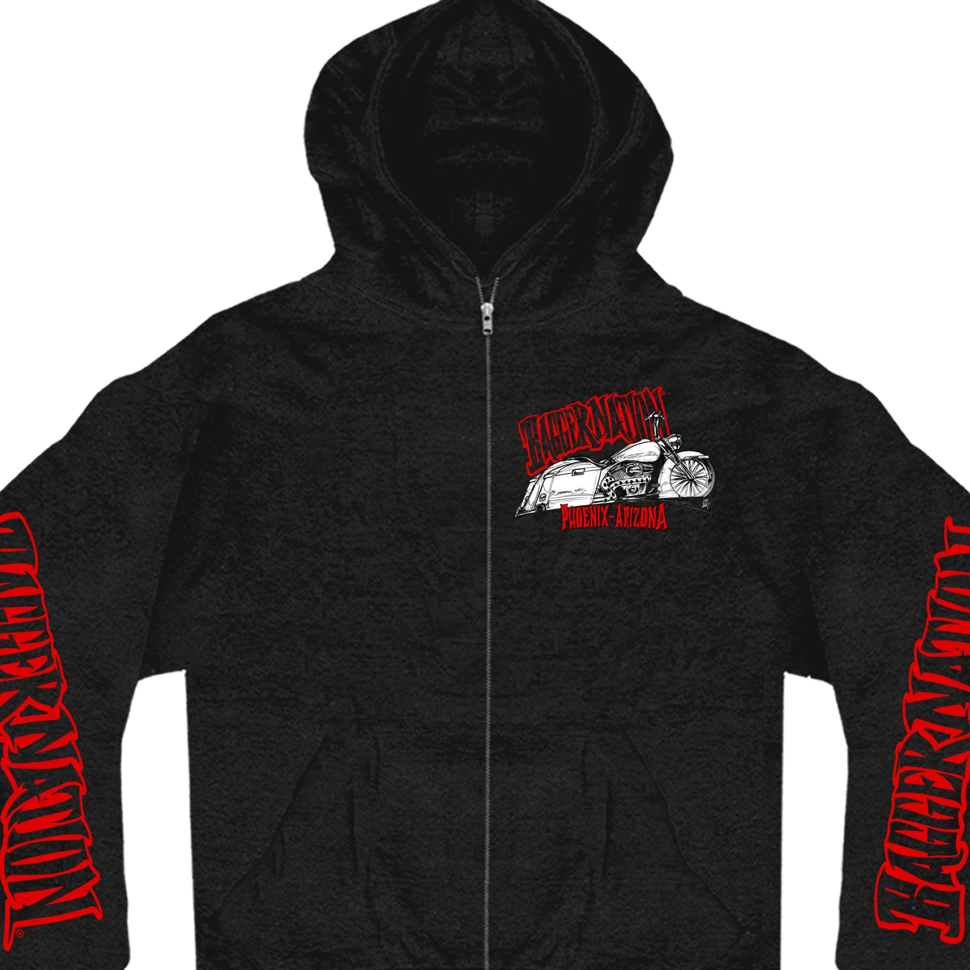 Official Paul Yaffe's Bagger Nation Twin Bikes Sweatshirt