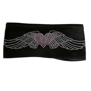 Hot Leathers Original Heart w/ Wings Bling Wraps